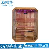 3-5 stanza asciutta di legno monouso di sauna di disegno operato della persona (M-6037)
