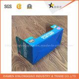 E-personalizado de cartón corrugado flauta Expositor para promoción