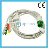 Spacelabes 5 - Lead ECG Cable con Leadwries , Clip , 16pin