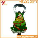 Изготовленный на заказ консервооткрыватель бутылки формы рождественской елки (YB-LY-O-07)