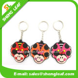 Promotion (SLF-KC013)를 위한 관례 3D PVC Rubber Key Chain