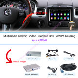 "フォルクスワーゲンTouareg 8 "" Support Touch Navigation、WiFi、3G、Google Map、Voice Navigationのための車Android Navigation Interface Box"