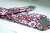 Jogo de seda ajustado da gravata do jacquard do quadrado feito sob encomenda do bolso do laço do presente