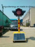 Luz de Tráfego Solar móveis para uso de despertar