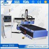 Machine de couteau de commande numérique par ordinateur de bois de chine pour l'industrie de décoration de meubles
