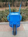 Capacidade de carga pesada Roda azul Pneumática Barrow
