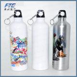 O alumínio feito sob encomenda da garrafa de água da impressão ostenta a garrafa de água para Pormotion