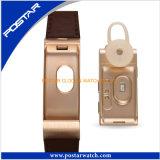 Het nieuwe Slimme Horloge van het Horloge van de Band Leatherl van de Stijl Echte Digitale voor het Ontwerp van Huawei van de Vrouwen van Mannen