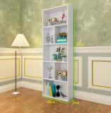 Hölzernes Farben-Bücherregal hergestellt von MDF