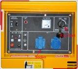 Piccolo generatore calmo del diesel del Portable 5kw