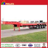 60ton schwerer Lowbed Ladung-LKW-halb Schlussteil für Exkavatoren