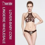 Femme New Design Crochet Knitting Swimwear (L32577)