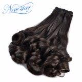 Großhandelsjungfrau-Menschenhaar-brasilianische Sprung-lockiges Haar-Extension