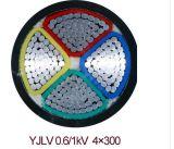 Кабель AWG куртки PVC кабеля AWG 3*4+1*6+2*12 алюминиевый алюминиевый для Мексики