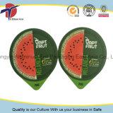 Selos da folha de alumínio dos copos dos PP do suco de fruta com cores vívidas