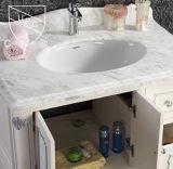 Ovale di ceramica della stanza da bagno di certificazione di Cupc sotto il contro dispersore (SN023)