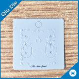 풀 컬러 시계 전시 카드에 의하여 인쇄되는 서류상 의류 꼬리표를 거는 소형 걸림새 꼬리표 /Jewelry/Earring