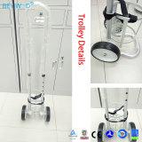 10L de Kar/het Karretje van de Cilinder van het Staal van de zuurstof