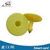 134.2kHz RFID 동물성 귀 꼬리표 동물성 귀 꼬리표 Em4305