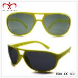 Óculos de sol de plástico Unisex de promoção clássica (WSP508257)
