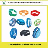 RFID는 개인화를 가진 RFID 실리콘 소맷동 RFID 중요한 꼬리표를 카드에 적는다