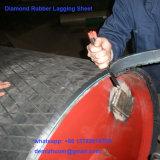 Zuverlässige u. ökonomische Riemen-Abrutschen-Lösung: Diamant-Verkleidung für Riemenscheiben
