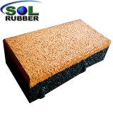 煉瓦を舗装する高品質の屋外の安全ゴム製床