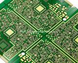 Fr4 de 6 capas Aceite Verde PCB con la fabricación de oro de inmersión