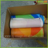 옥외 비닐 광고 메시 기치를 인쇄하는 관례