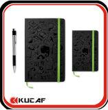 Бумага с насечками новейшей конструкции ноутбуков жесткий футляр PU ноутбук
