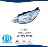 ヒュンダイI10の2007年のヘッドライトの自動車部品の製造業者