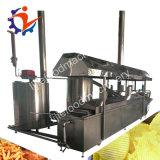 Máquina de fritura contínua do amendoim da alta qualidade