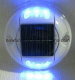 Goujon r3fléchissant solaire de clignotement de route des plots réflectorisés de la sécurité routière IP68 DEL