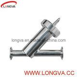 Y-Tipo tipo tamiz del acero inoxidable del filtro 304 Y
