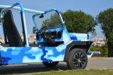 4개의 시트를 가진 특별한 색칠 가솔린 관광 차