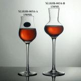 水晶甘口ワインのコップのチューリップのワイングラスのコップ