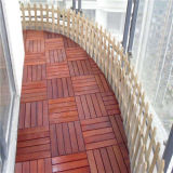 Revestimento composto plástico de madeira interno do Decking de DIY WPC