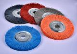 Spazzole industriali personalizzate della rotella di spazzole per l'attrezzo che sbava (WB-11)