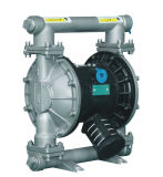 Rd 25のステンレス鋼の化学工業のための圧縮空気の二重ダイヤフラムポンプ
