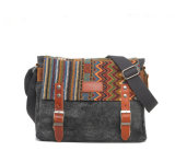 Оптовое Fashion Causal Canvas School Bag для студента колледжа (SC-6007A)