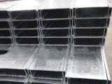 Profilo strutturale della Manica d'acciaio della curvatura fredda galvanizzata e nera C