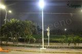 Luces de calle accionadas solares todas en una