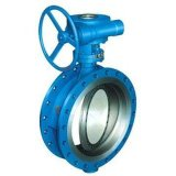 AISI/JIS/DIN Cast Iron Flanged Earth Valve