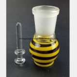 GlasHuka-Rohr-Ölwanne-Zubehör 14.5mm, 18.8mm weiblicher Mund