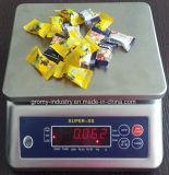 0,1 g escala impermeável porção inoxidável Scale 15kg