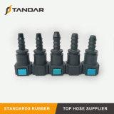 7,89mm auto piezas de plástico líquido del inyector de herrajes para la línea de combustible