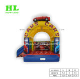 Caldo-Vendendo il Bouncer gonfiabile personalizzato di stile della banana con la piccola trasparenza per il salto dei capretti