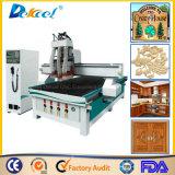3 Traitement CNC routeur Gravure multi machines à bois à tête machine à bois de coupe