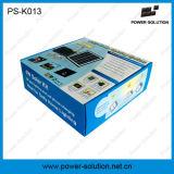 Accueil du système d'énergie solaire de l'éclairage avec la charge de téléphone