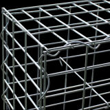 China Popular Heavily Zinc recubierto soldado Gabion cesta (WGB)